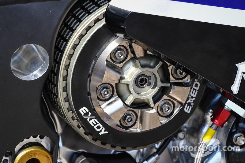 Yamaha Factory Racing bike detail