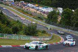 #28 Land Motorsport, Audi R8 LMS: Christopher Mies, Connor De Phillippi