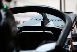 Sahara Force India F1 VJM09 mit Halo Cockpitschutz