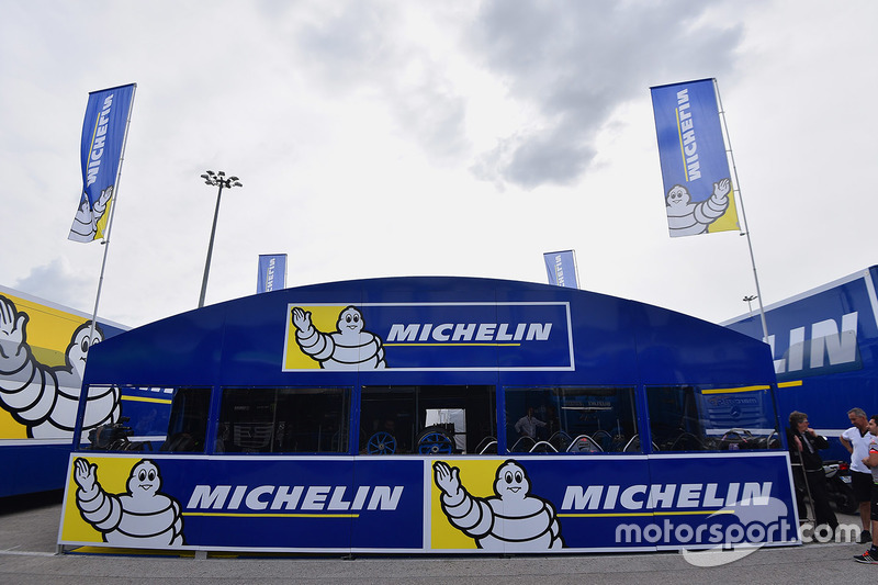 Michelin tire area