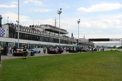 Griglia di partenza GT3, Gara 1