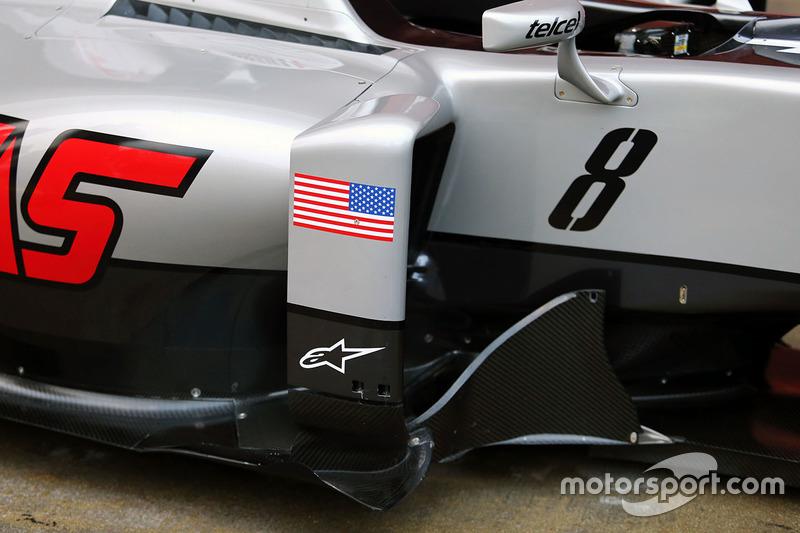 Detail, Haas F1 Team VF-16