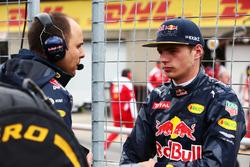 Max Verstappen, Red Bull Racing op de grid