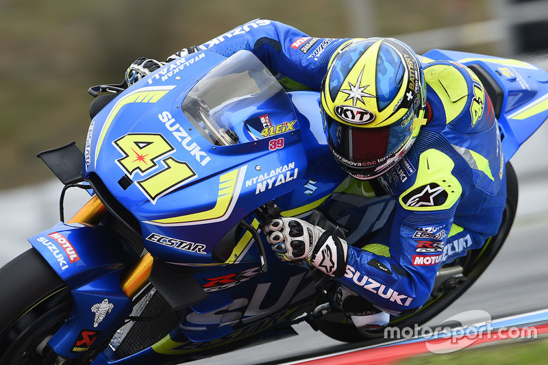 Ausfall: Aleix Espargaro, Team Suzuki MotoGP