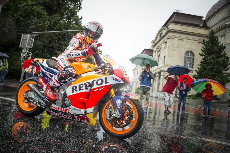 Marc Marquez, Repsol Honda alla parata della MotoGP
