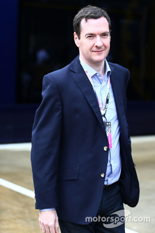 George Osborne MP, Chancellor of the Exchequer