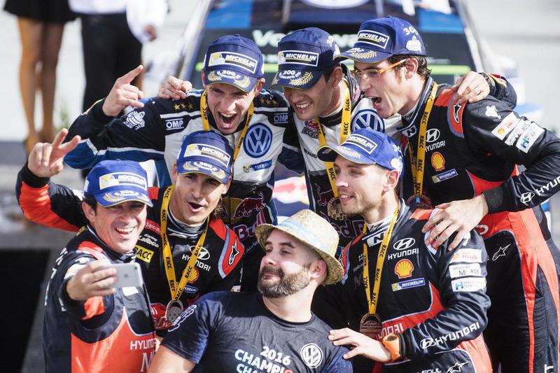Sébastien Ogier, Julien Ingrassia, Volkswagen Polo WRC, Volkswagen Motorsport; Daniel Sordo, Marc Ma