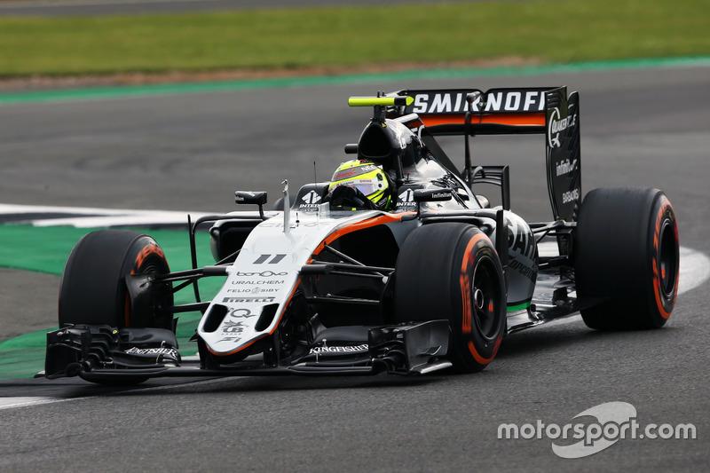 10. Sergio Perez, Sahara Force India F1 VJM09