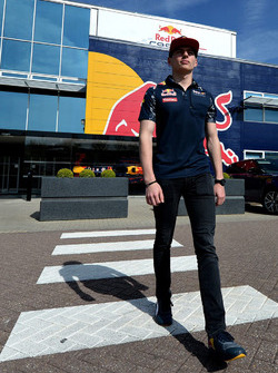 Max Verstappen, Red Bull Racing, visita la factory