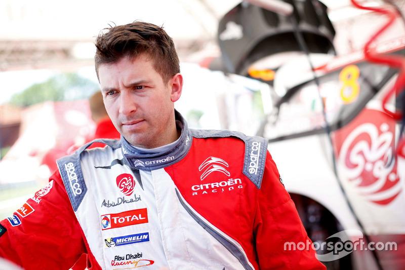 Scott Martin, Citroën DS3 WRC, Abu Dhabi Total World Rally Team