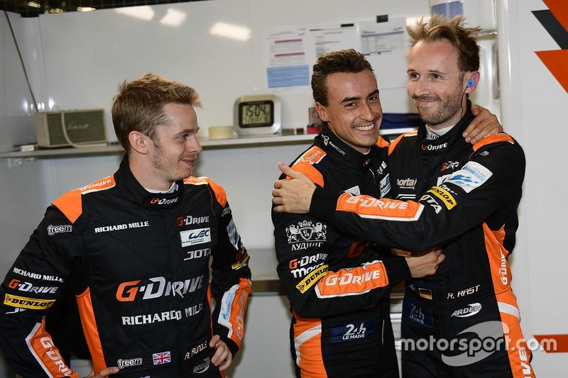 Polesitter LMP2: #26 G-Drive Racing Oreca 05 - Nissan: Roman Rusinov, Alex Brundle, René Rast