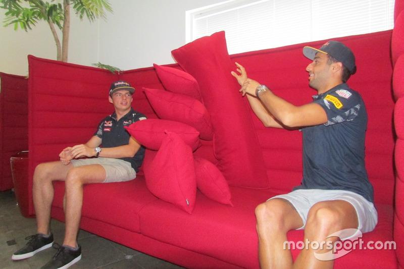 Daniel Ricciardo, Max Verstauen, redbull