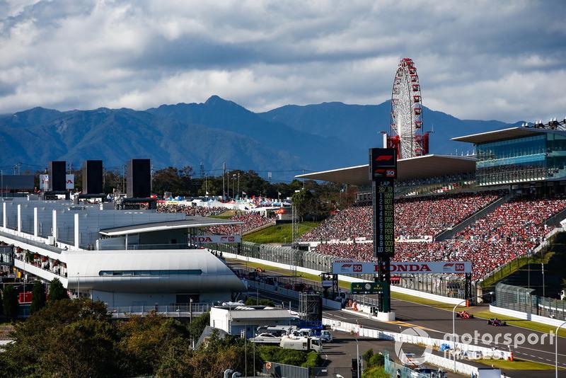 Brendon Hartley, Toro Rosso STR13, Sebastian Vettel, Ferrari SF71H