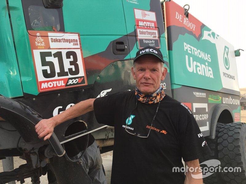 Henk van Leuven, Team De Rooy Iveco Team Manager