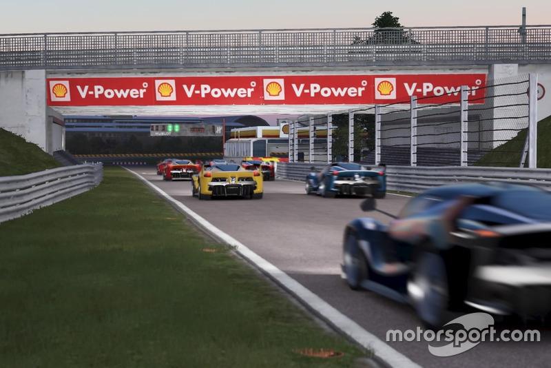 Screenshot del Ferrari Essentials de Project Cars 2