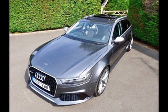 Audi RS 6 du prince Harry