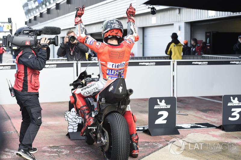 Peraih pole, Jorge Lorenzo, Ducati Team