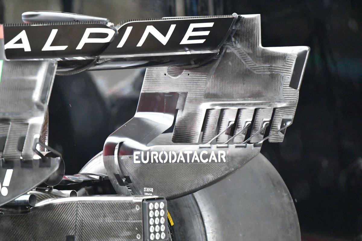 Profil arrière Alpine A521