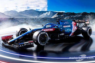 Presentación Alpine F1