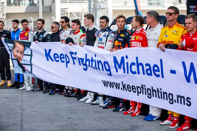 Tributo a Michael Schumacher