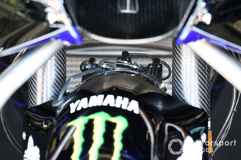 Yamaha Factory Racing bike detail
