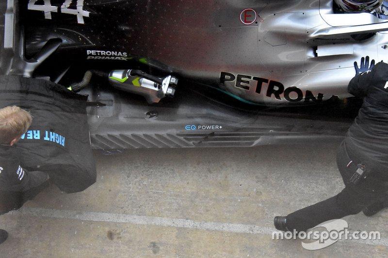 Mercedes AMG F1 W10, részlet