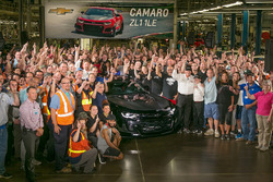 Rick Hendrick Chevy Camaro Delivery August 10th 2017 Automotive