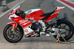 Moto de Julian Simon, Milwaukee Aprilia World Superbike Team