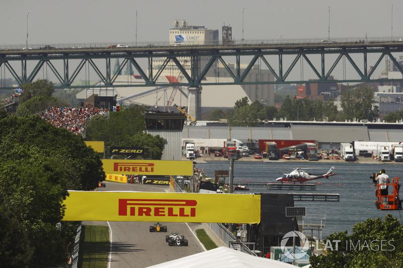 Kevin Magnussen, Haas, Lance Stroll, Williams and Nico Hulkenberg, Renault
