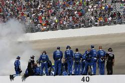 Siegerjubel bei der Crew von Jimmie Johnson, Hendrick Motorsports