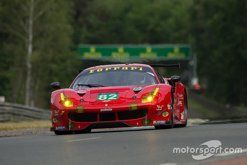 11. GTE-Pro: #82 Risi Competizione, Ferrari 488 GTE