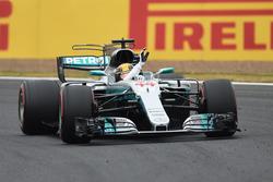 Polesitter Lewis Hamilton, Mercedes AMG F1 W08