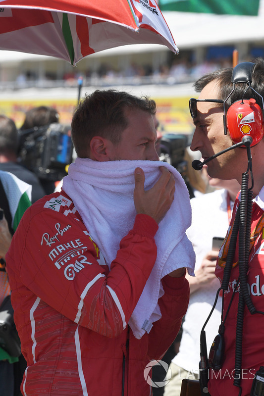 Себастьян Феттель, Ferrari, гоночний інженер Ferrari Ріккардо Адамі