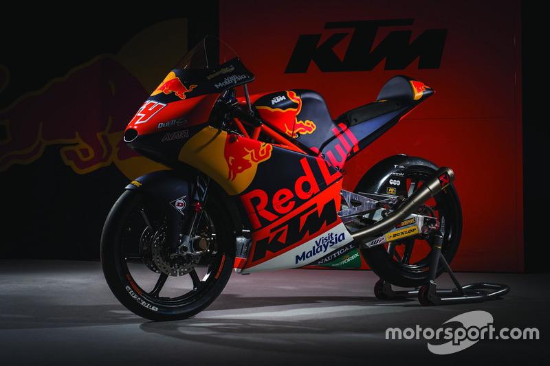 KTM RC 250 von Red Bull KTM Ajo Team