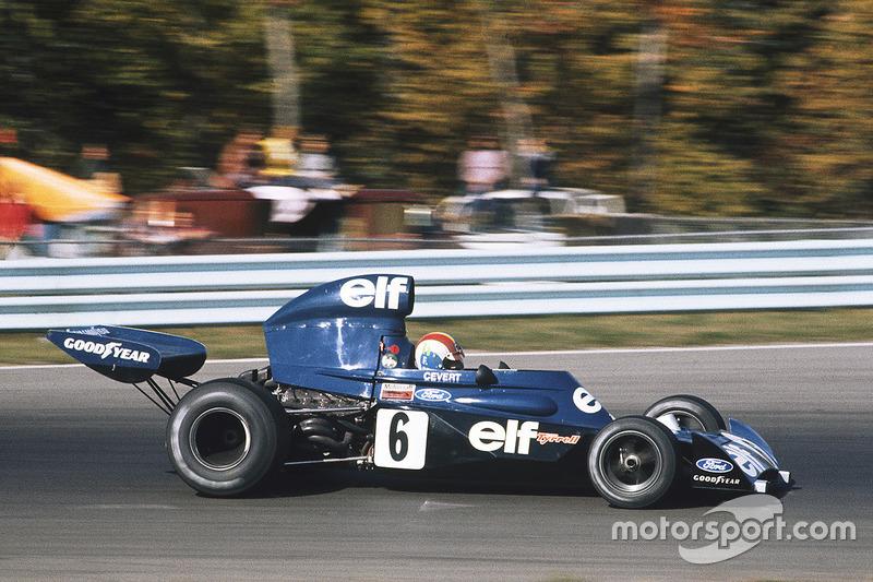 François Cévert, Tyrrell Ford