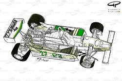 Подробная схема Williams FW07 1979 года