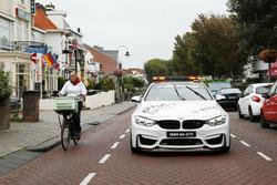 Maxime Martin, BMW Team RBM, BMW M4 DTM in de BMW M4 Safety car