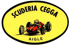 Scuderia Cegga Aigle, logotipo