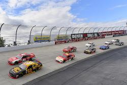 Brendan Gaughan, Richard Childress Racing Chevrolet and Ryan Reed, Roush Fenway Racing Ford