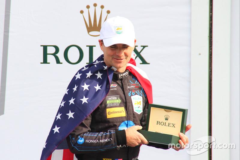 Podium: winnaars Jeff Gordon, Wayne Taylor Racing