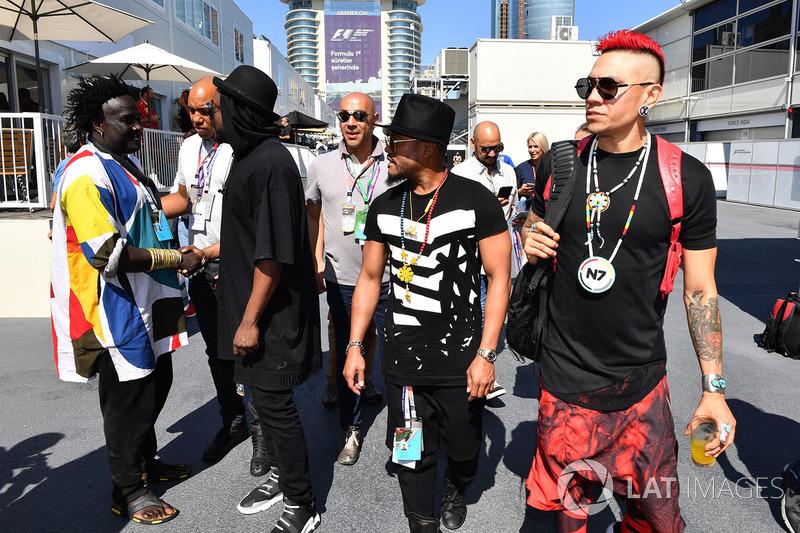 Musiker der Black Eyed Peas