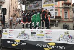 Podium Rally Ronde del Ticino