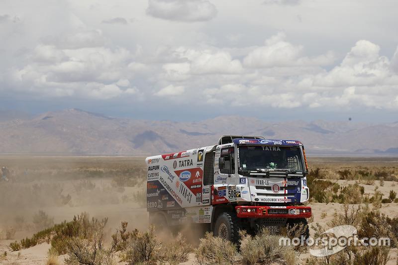 #508 Tatra Buggyra Racing: Martin Kolomy, Rene Kilian, David Kilian