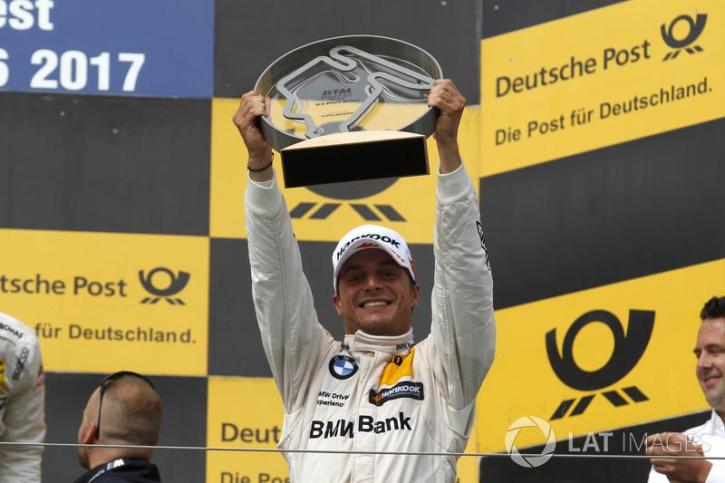 Подіум: трете місце Бруно Спенглер, BMW Team RBM, BMW M4 DTM