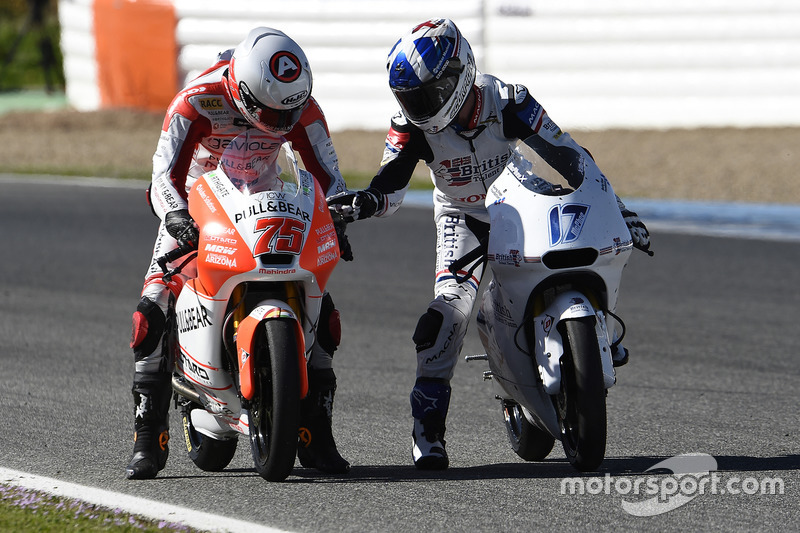 John McPhee, British Talent Team; Albert Arenas, Aspar Team