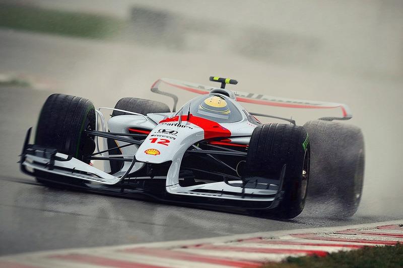 Designstudie voor McLaren