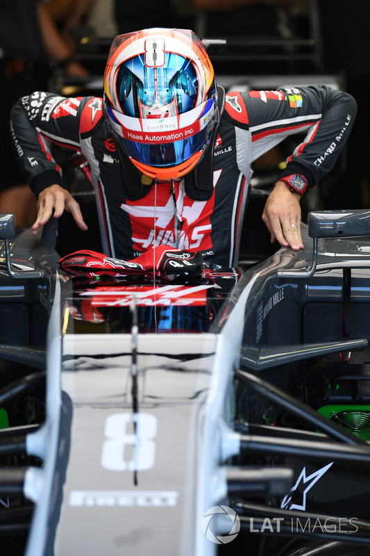 Romain Grosjean, Haas VF-17