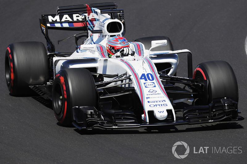 Paul di Resta, Williams, sustituye a Felipe Massa, Williams