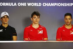 Володар поулу Шарль Леклер (PREMA Powerteam), другий на старті Серхіо Сетте Камара (MP Motorsport) і третій - Антоніо Фуоко (PREMA Powerteam)