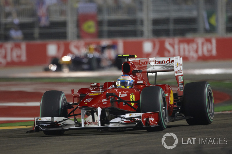 2010: Фернандо Алонсо, Ferrari F10